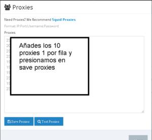 proxies FCS